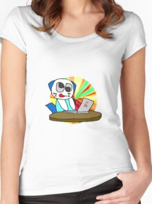 Procrastination! Women's Fitted Scoop T-Shirt