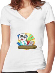 Procrastination! Women's Fitted V-Neck T-Shirt