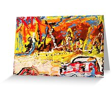 ROAD FROM PALM DESERT Greeting Card