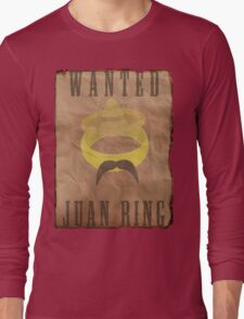 Lord of The Rings Parody - The Juan Ring Long Sleeve T-Shirt