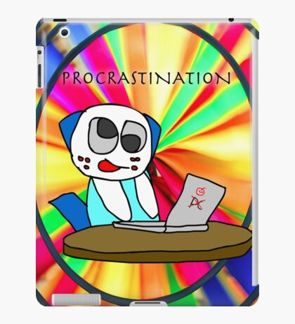 Procrastination! iPad Case/Skin