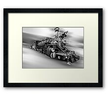 Choo,Choooooo Framed Print