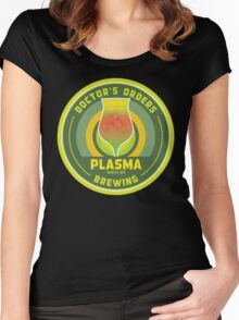 Doctor's Orders Brewing Plasma Women's Fitted Scoop T-Shirt