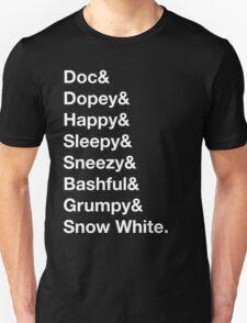 Helvetica Dwarfs T-Shirt