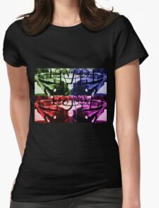 Livin Low Multi Colored Womens Fitted T-Shirt