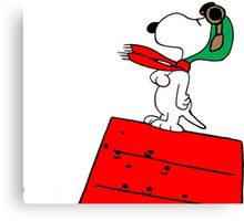 Baron Snoopy Canvas Print