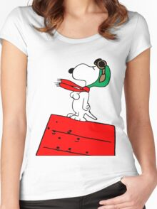 Baron Snoopy Women's Fitted Scoop T-Shirt