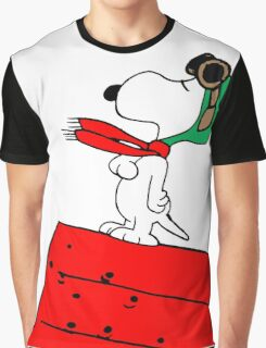 Baron Snoopy Graphic T-Shirt