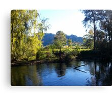 Gloucester River Canvas Print