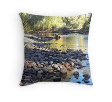 Gloucester Riverbank Throw Pillow
