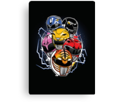Morphin Time! Canvas Print