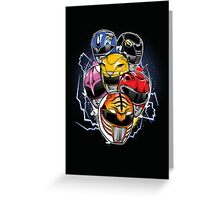 Morphin Time! Greeting Card
