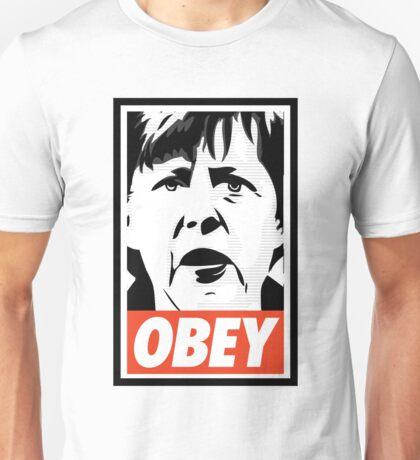 Merkel OBEY Unisex T-Shirt
