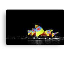Opera House, Vivid Sydney Canvas Print
