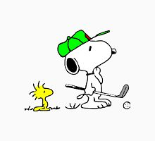 Snoopy on Golf Unisex T-Shirt
