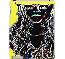 Livin Low Girl With Sunglassess- Yellow iPad Case/Skin
