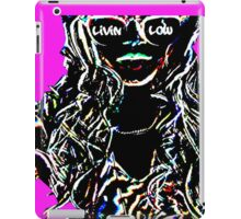 Livin Low Girl With Sunglassess-Pink iPad Case/Skin