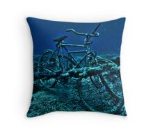 Bounty Wreck - Gili Trawangan, Lombok Indonesia Throw Pillow