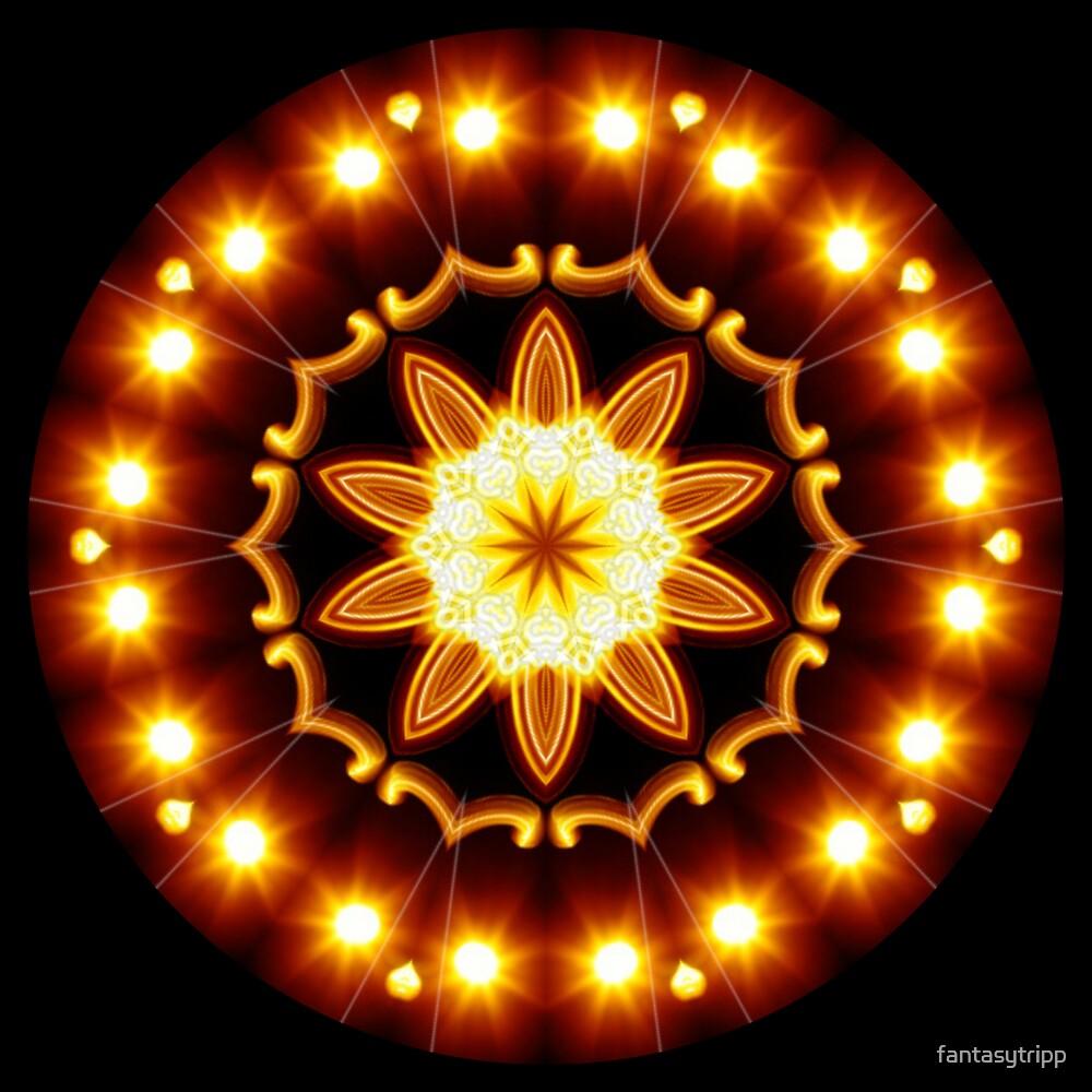 Om Glow Kaleidoscope 01 by fantasytripp