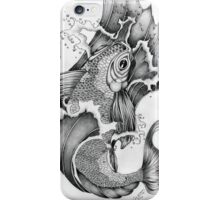 Koi in Graphite iPhone Case/Skin