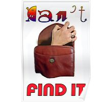 CAN'T FIND IT Poster