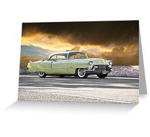 1955 Cadillac Coupe De Ville Greeting Card