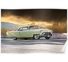 1955 Cadillac Coupe De Ville Poster