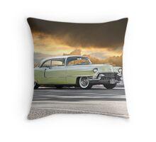 1955 Cadillac Coupe De Ville Throw Pillow