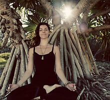 Seated meditation #2 by Lauren Tober