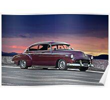 1950 Chevrolet Custom Sedan II Poster