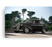 1937 Chevrolet 2-Door Sedan Canvas Print