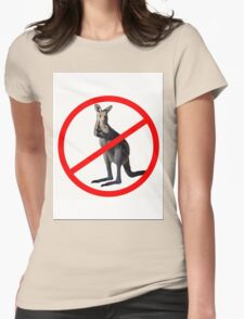 NO DRINKING Womens Fitted T-Shirt