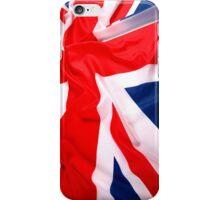 Waving UK Flag iPhone Case iPhone Case/Skin