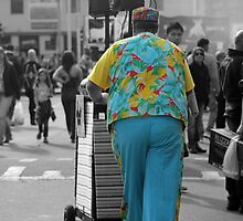 Colourful character by Karen Tregoning