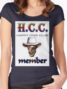 H.C.C. MEMBER Women's Fitted Scoop T-Shirt