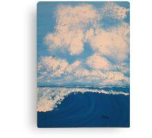 sunrise sea and sky Canvas Print