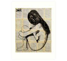 modesty (II) Art Print
