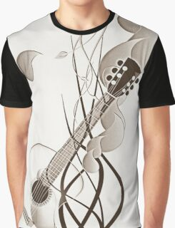 sketchy guitar Graphic T-Shirt
