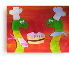 Snakes that Bake Canvas Print