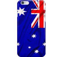 Waving Australian Flag iPhone case iPhone Case/Skin