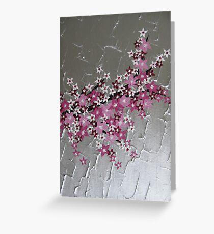 zen Japanese Cherry Blossom tree Greeting Card
