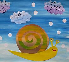 Snail in Hail - Animal Rhymes - created from recycled math books by cathyjacobs