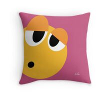 Emotions, Disappointed. Throw Pillow
