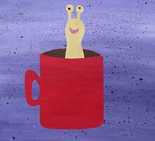 Slug in a Mug - Animal Rhymes - created from recycled math books by cathyjacobs