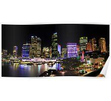 Circular Quay Panorama Poster