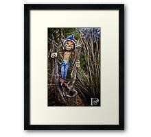 Scrub Elf  Framed Print
