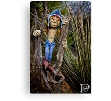 Scrub Elf  Canvas Print