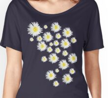 White Flower - daisy like Women's Relaxed Fit T-Shirt