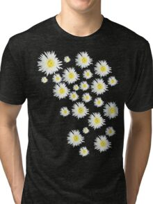White Flower - daisy like Tri-blend T-Shirt
