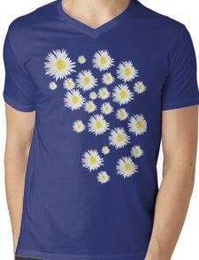 White Flower - daisy like Mens V-Neck T-Shirt